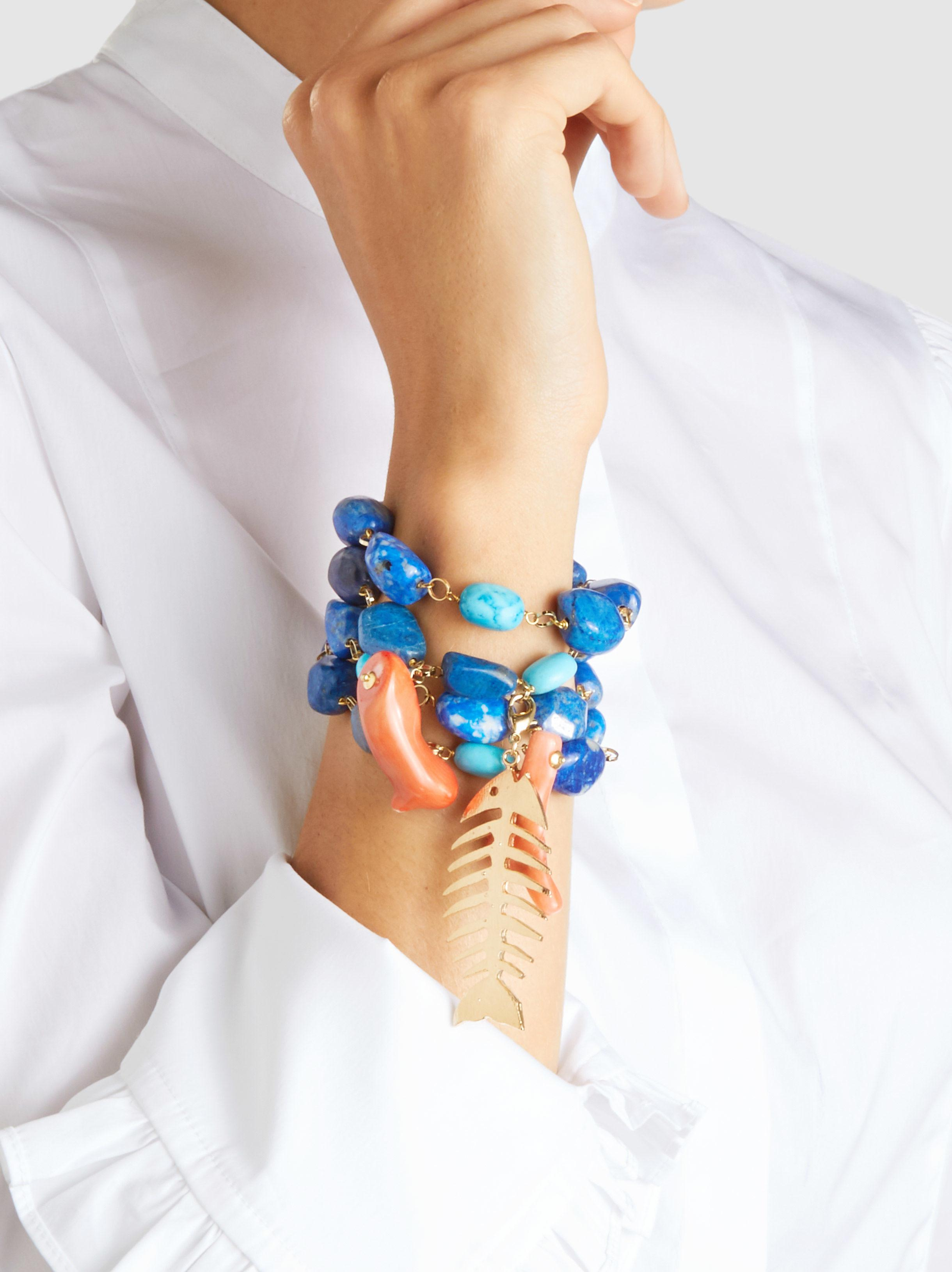 neutral Grillo multi strand bracelet Rosantica SufqdTMAW