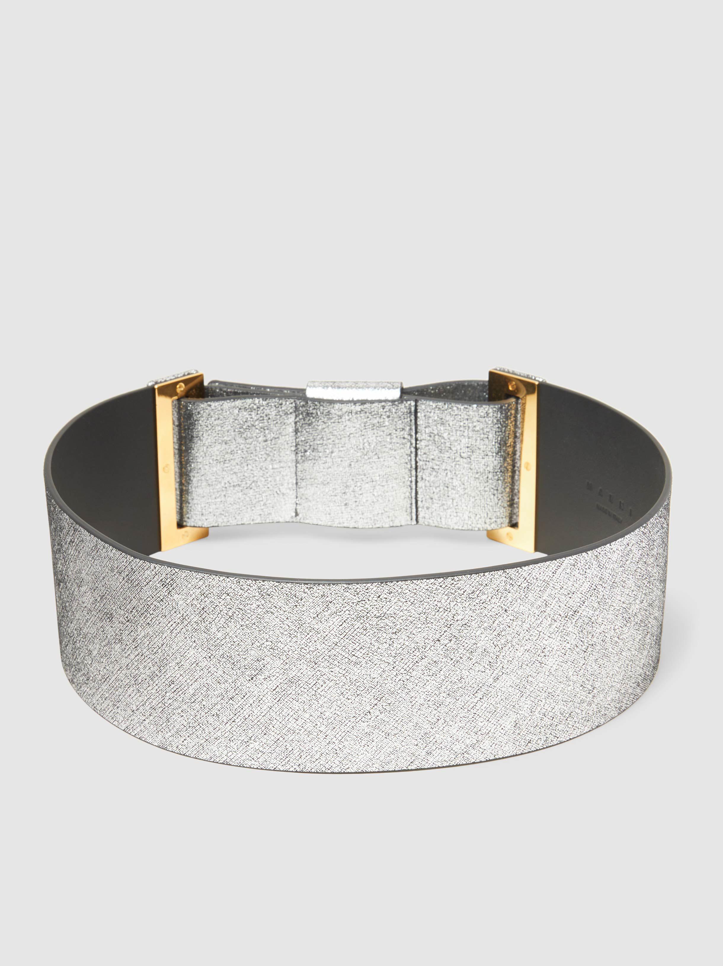 Metallic Leather Belt Marni XiDsM