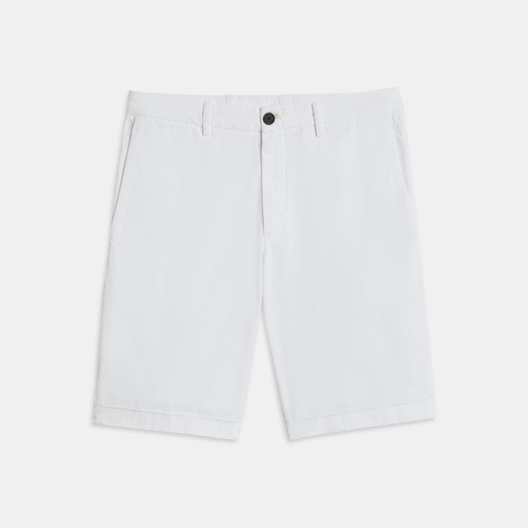 b33efe03c4e Lyst - Theory Garment-washed Zaine Short in White for Men