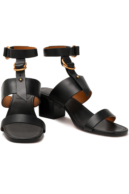 69b1433b0ef Chloé - Chloé Woman Leather Sandals Black - Lyst. View fullscreen