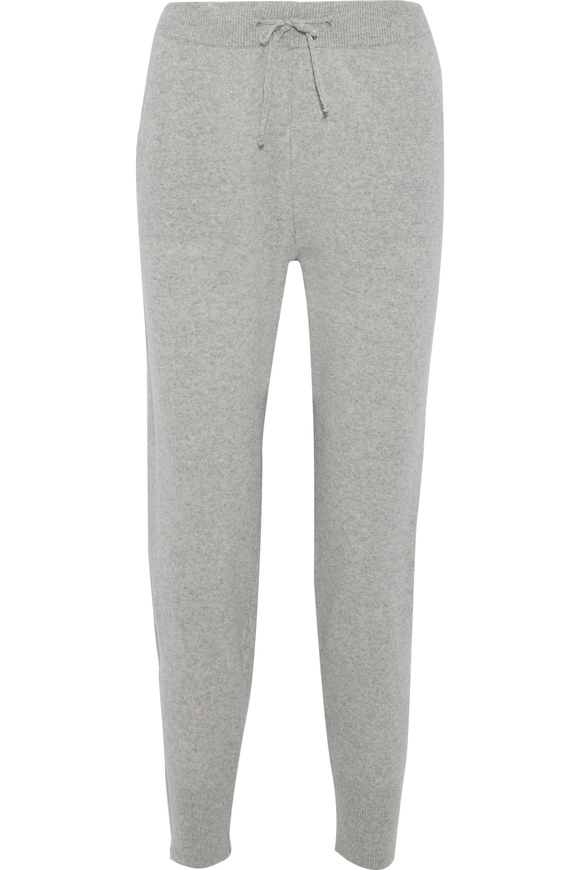 Iris & Ink Woman Cashmere Track Pants Light Gray Size M IRIS & INK Geniue Stockist vCnnJ8