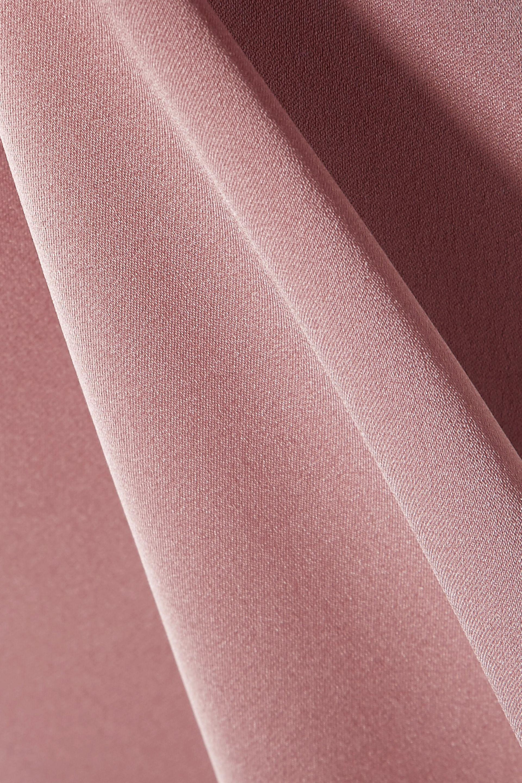 7c91e366fc6611 Lyst - Vince Silk-blend Satin Blouse Antique Rose in Pink