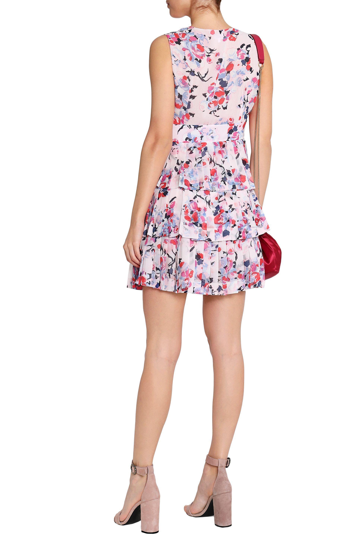 fed80babcbd2 claudie-pierlot-Pastel-pink-Woman-Corded-Lace-paneled-Crepe-satin-Dress -Pastel-Pink.jpeg