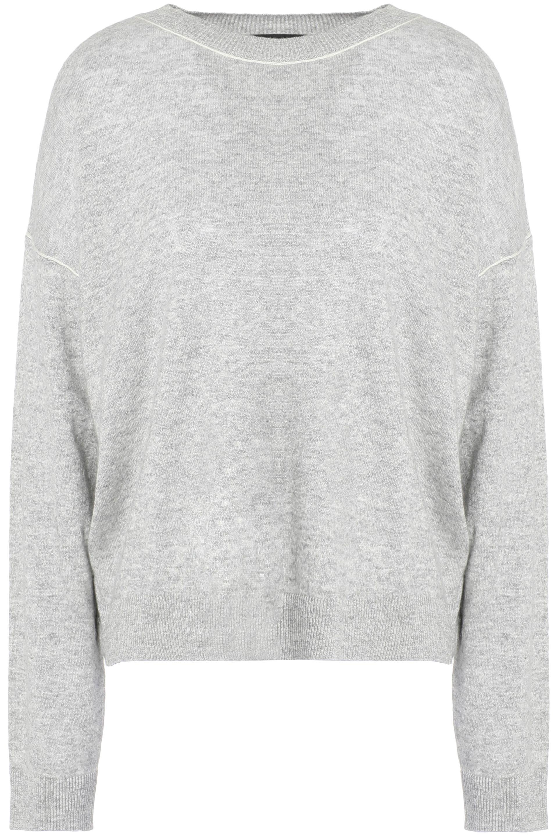 Theory Woman Cashmere And Linen-blend Sweater Light Gray Size L Theory Get To Buy Cheap Price Outlet Cheapest Clearance Sale Online ixDINAHise