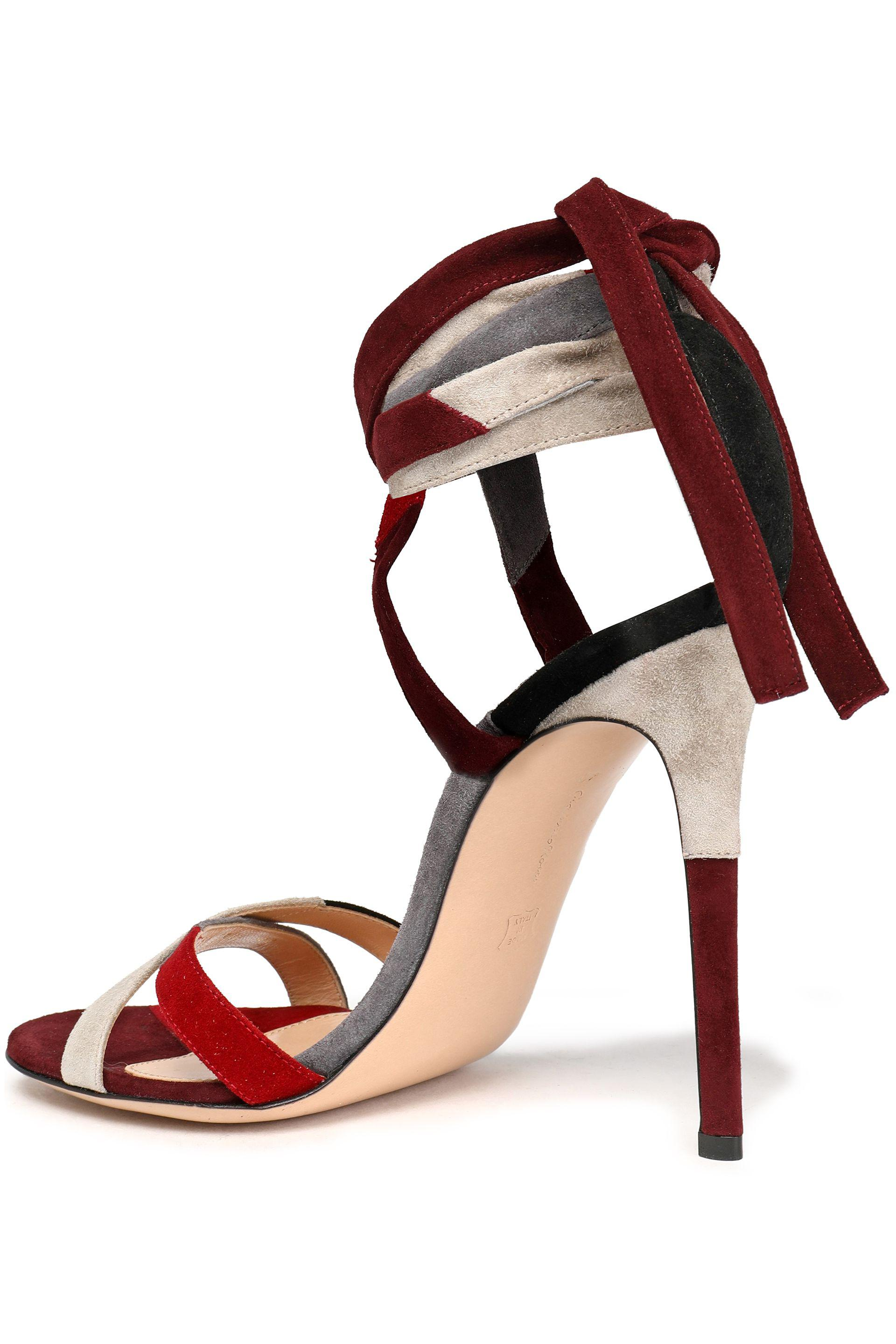 Camilla Elphick Woman Pcv-paneled Color-block Leather Sandals Multicolor Size 38.5 Camilla Elphick rPYga