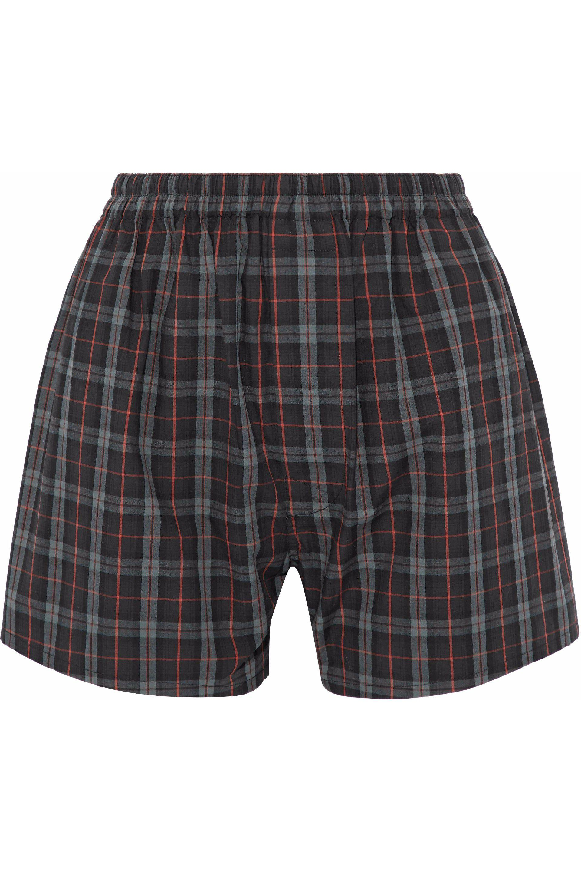 floral gradient fitted shorts - Black Maison Martin Margiela mvLss