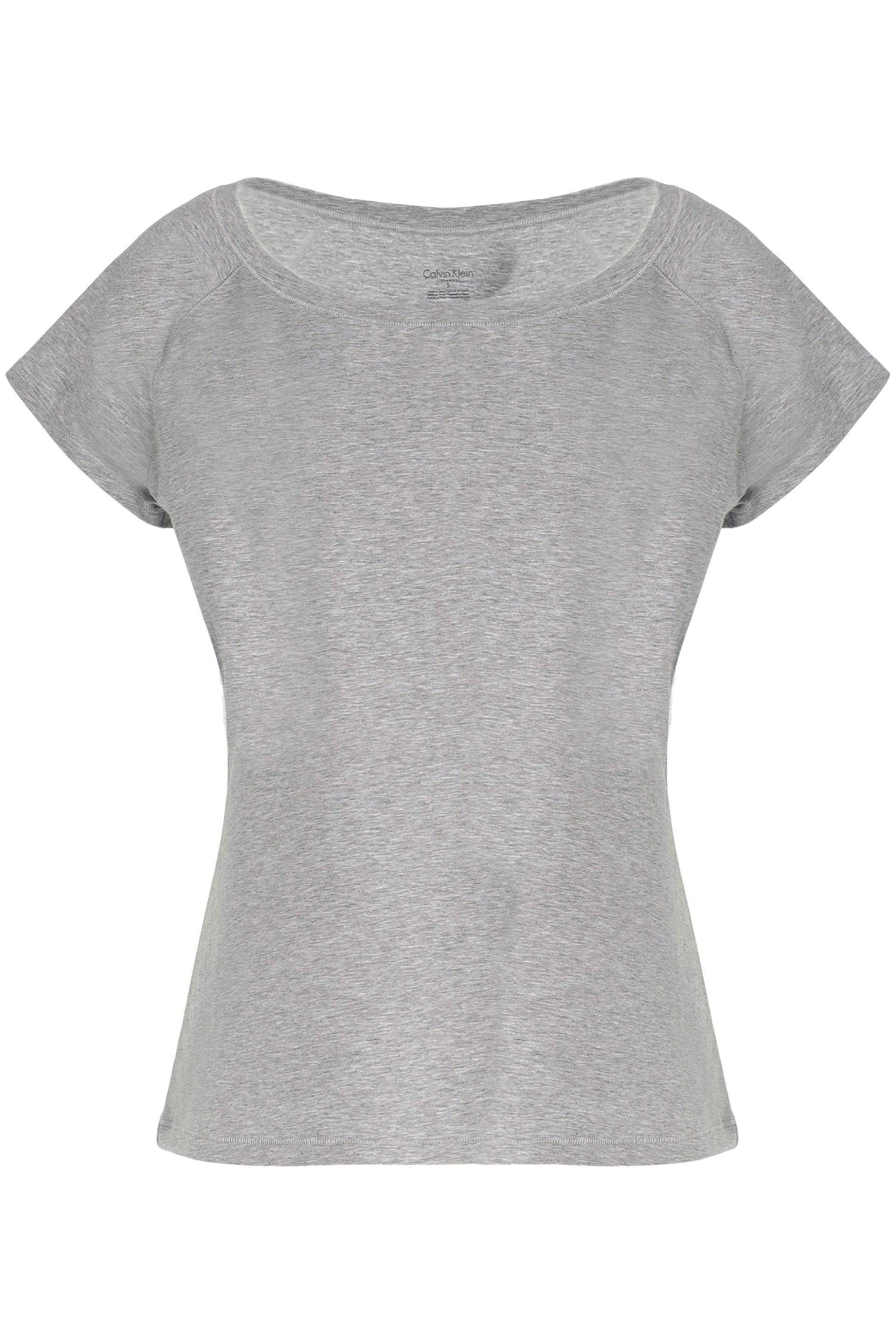 Calvin Klein Woman Stretch Cotton And Modal-blend Jersey Pajama Top Gray Size M Calvin Klein Discount Affordable Wiki Cheap Online Cheap Best Wholesale Buy Cheap Hot Sale I9AnD