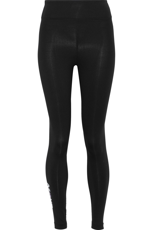 939764e3e6108 Lyst - Koral Woman Drive Printed Stretch Leggings Black in Black