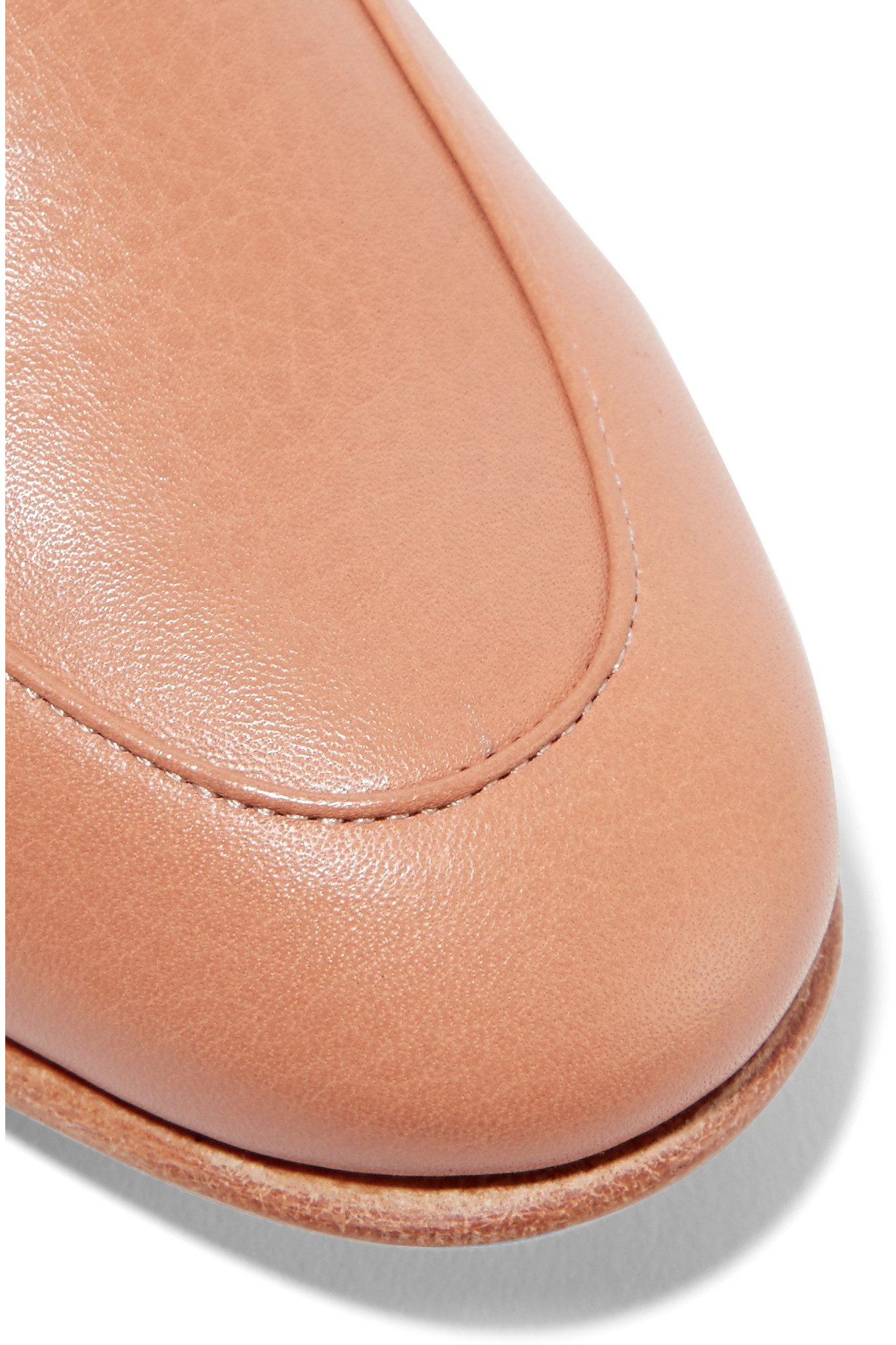 Dieppa Restrepo Penny Leather Loafers - Lyst