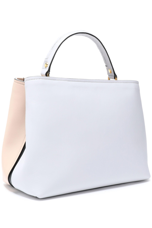 Paula Cademartori Woman Mae Printed Leather Shoulder Bag Light Gray Size Paula Cademartori REbzy1PSmj