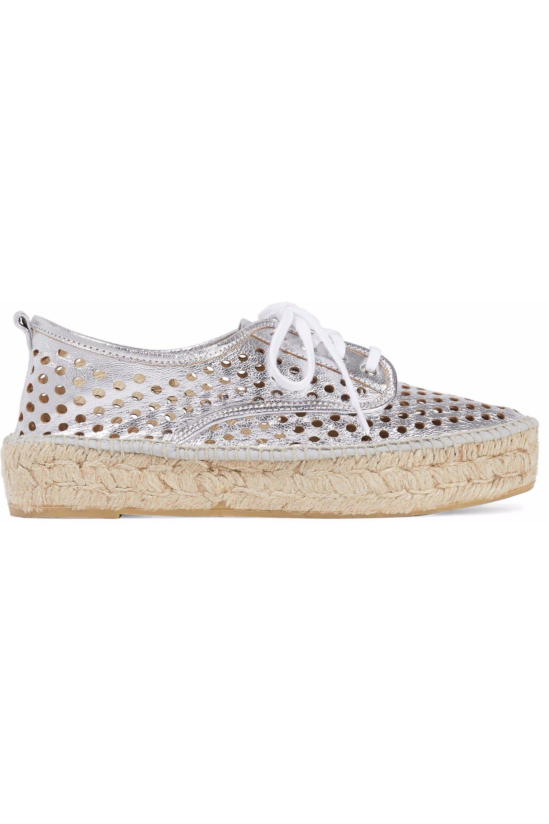 Loeffler Randall Laser Cut Low-Top Sneakers clearance clearance store prices cheap price newest cheap online 8Xc3MtL