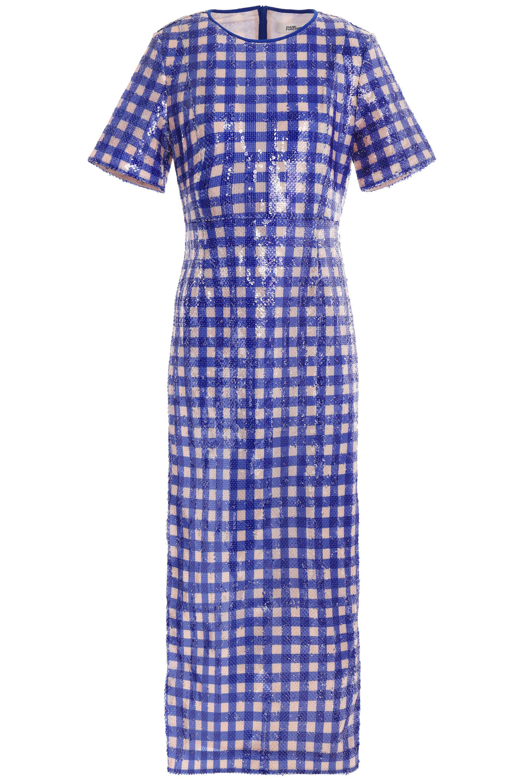Guipure Lace Midi Dress - Royal blue Diane Von Fürstenberg Big Sale Sale Online Outlet Where Can You Find Sale Websites Zad8JFZc