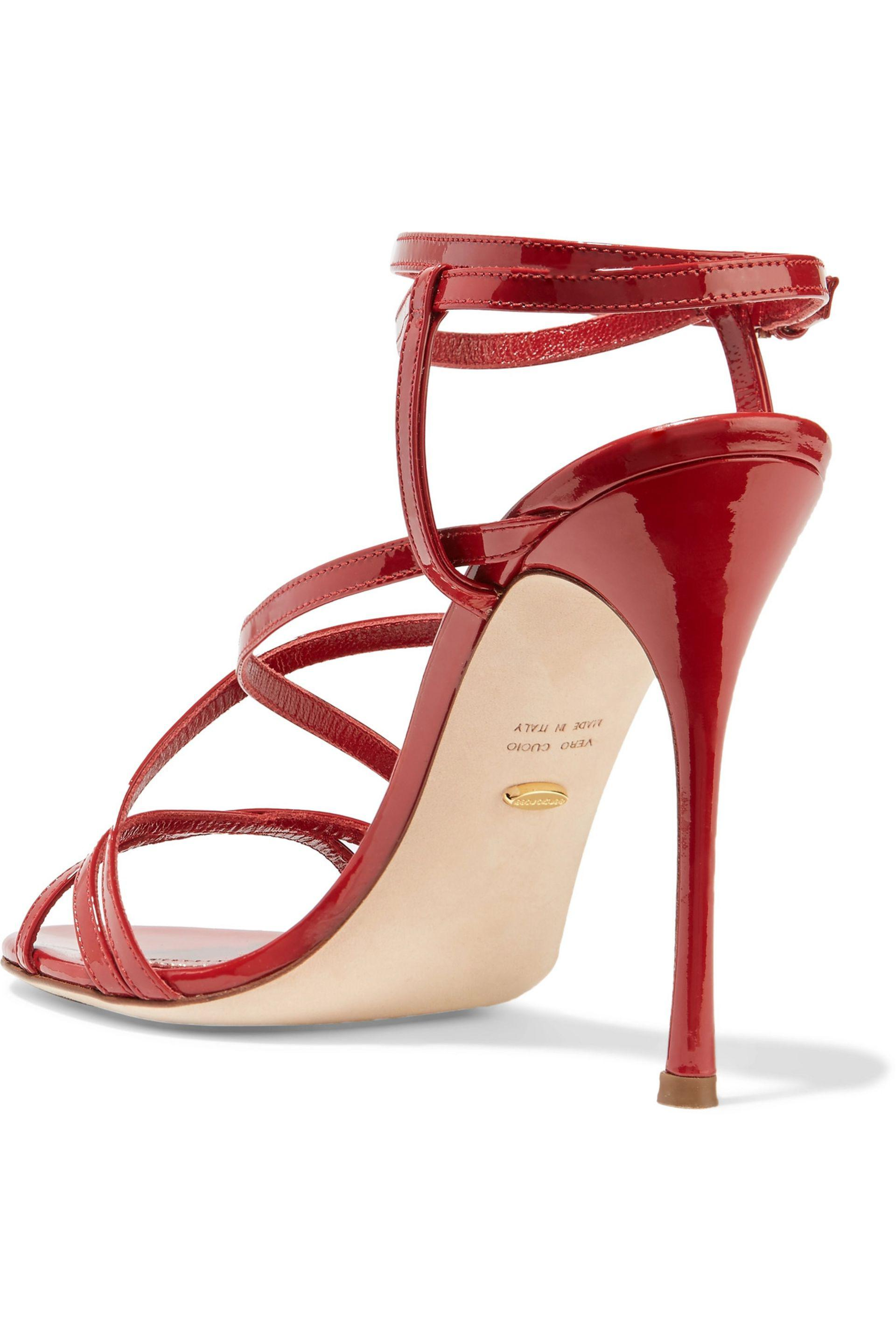 For Sale Official Site Cheap Sale New Sergio Rossi Leather Sandal Cheap Sale Sast Discount Get Authentic VD0L7G