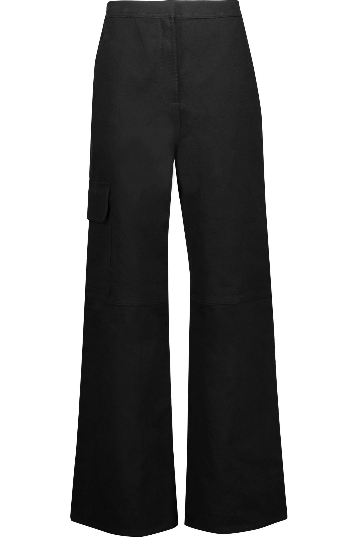 J.W.Anderson. Women's Black Cotton-blend Twill ...