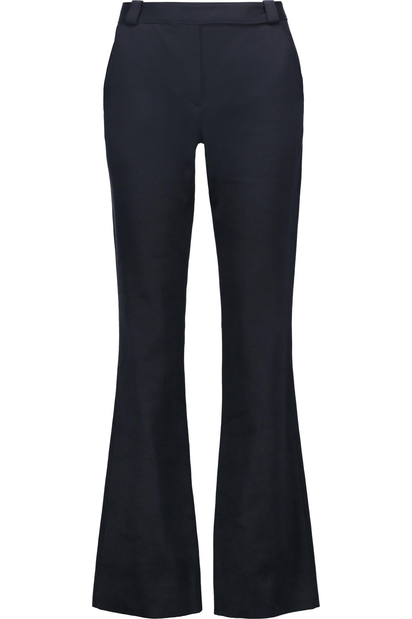 Amazing Women39s Slim Fit Boot Cut Stretch Twill Pant  BLACK BK