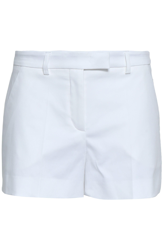 4bd27b563917 Emilio Pucci Woman Stretch-cotton Shorts White in White - Lyst