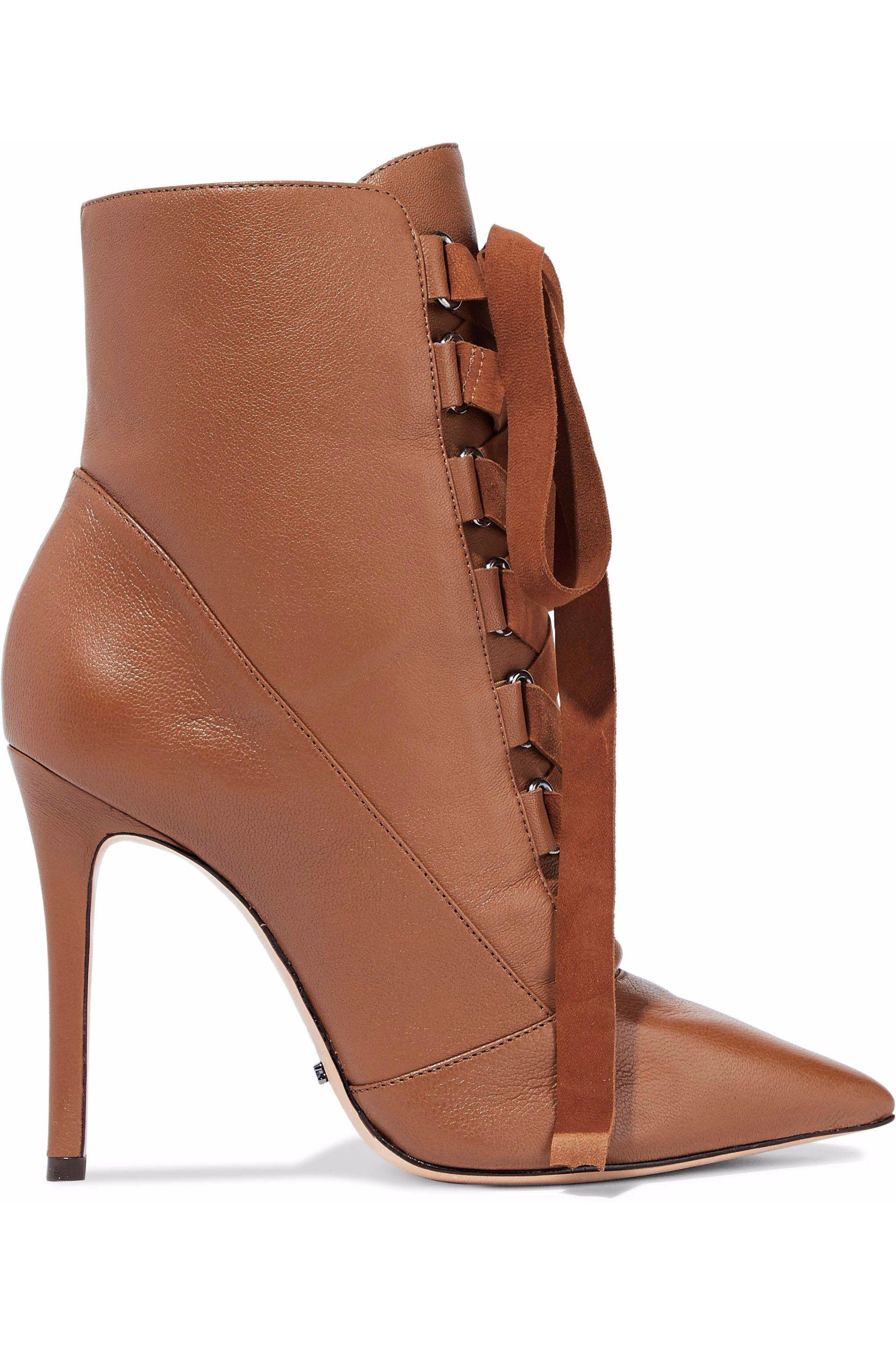 Schutz Fur-Trimme Ankle Boots discount clearance store outlet hot sale best place for sale supply sale online FHbyESnFj7