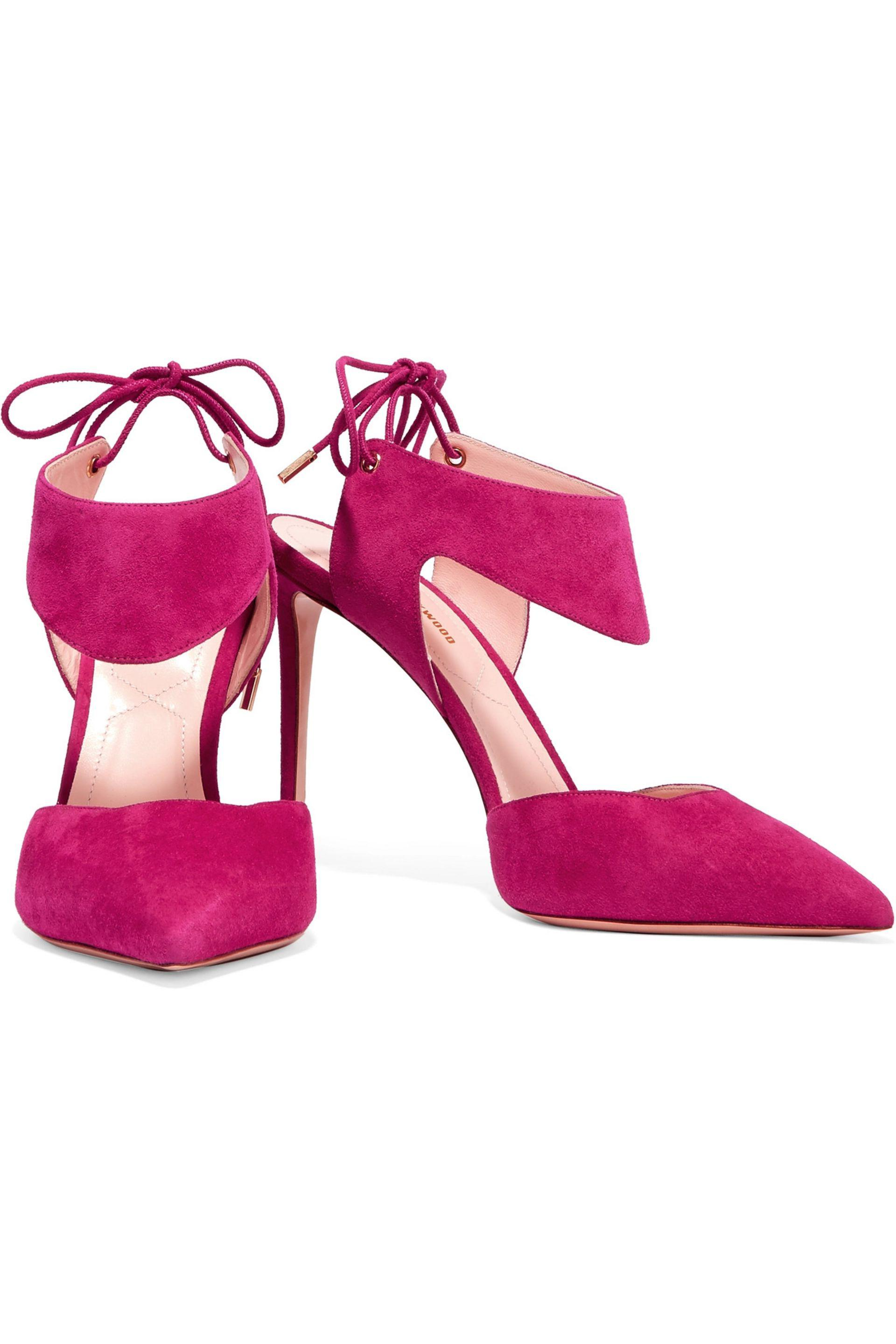 Nicholas Kirkwood | Purple Leda Suede Pumps | Lyst. View Fullscreen