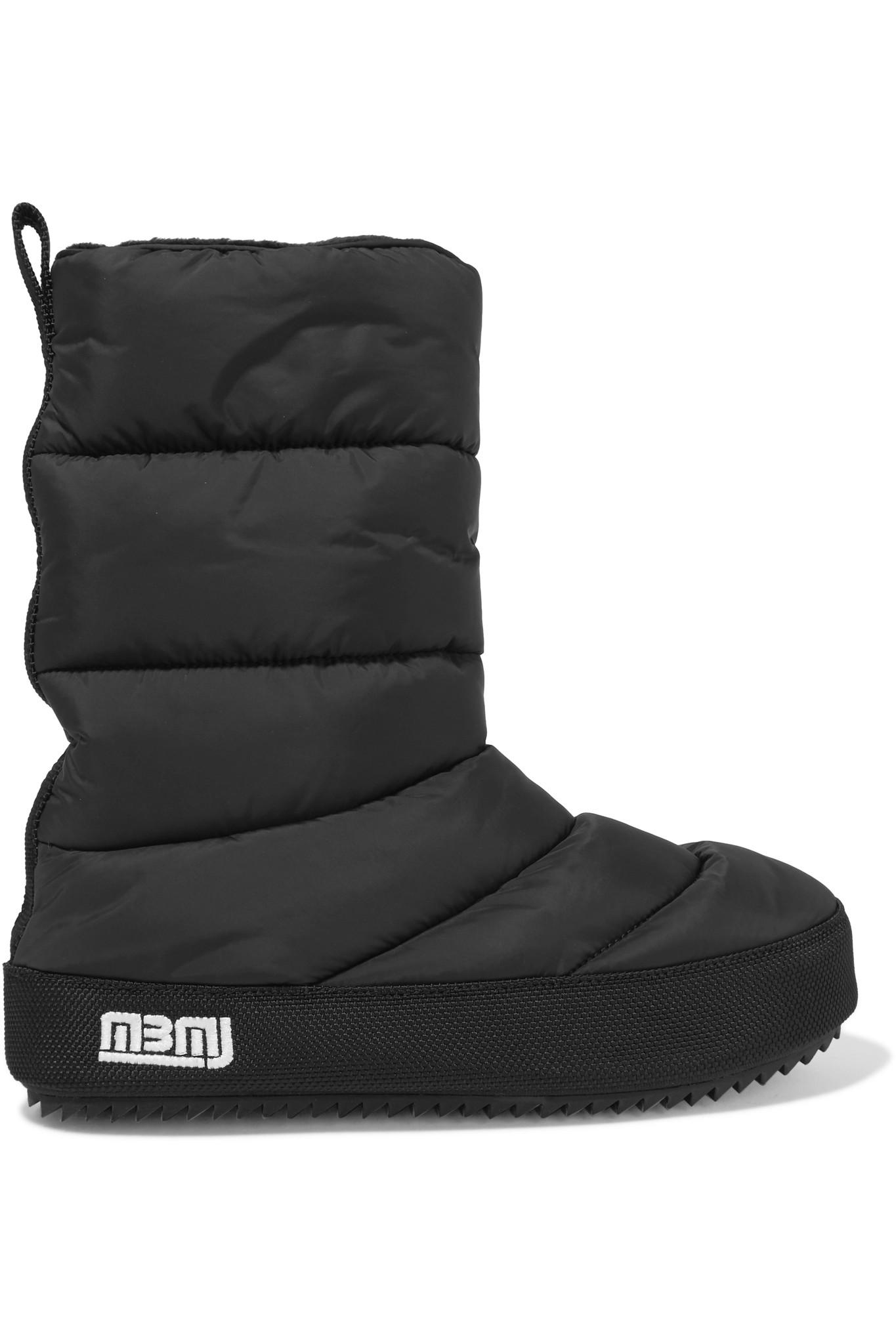 Marc By Marc Jacobs. Women's Black Howard Quilted Shell Boots