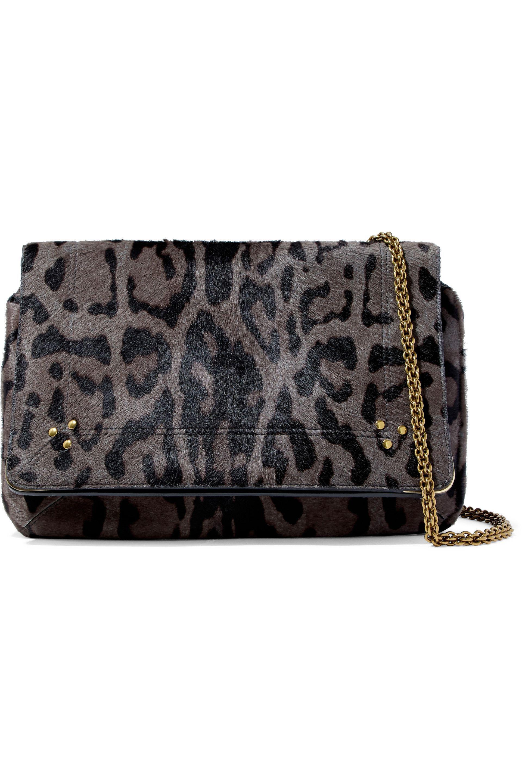 Victoria Beckham Printed Croc Mini Shoulder Bag in Brown,Animal Print