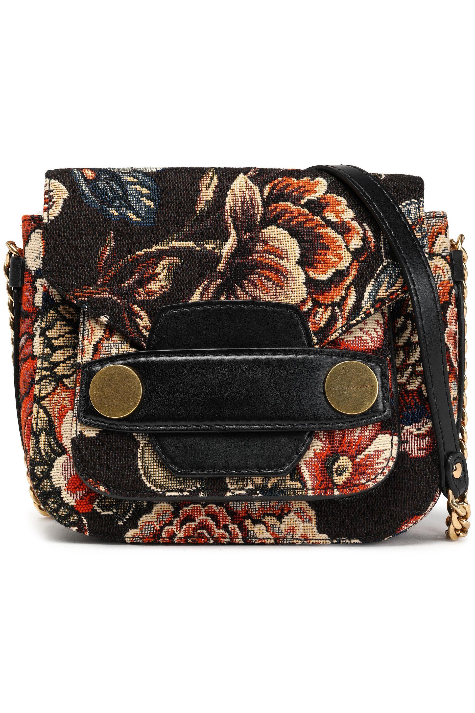 2a75ea39546e Stella McCartney Woman Jacquard Shoulder Bag Black in Black - Lyst