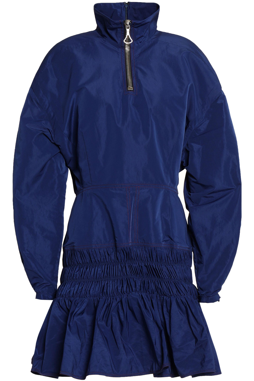 1f8e932f4fc ellery-Royal-blue-Flared-Shirred-Shell-Turtleneck-Mini-Dress-Royal-Blue.jpeg