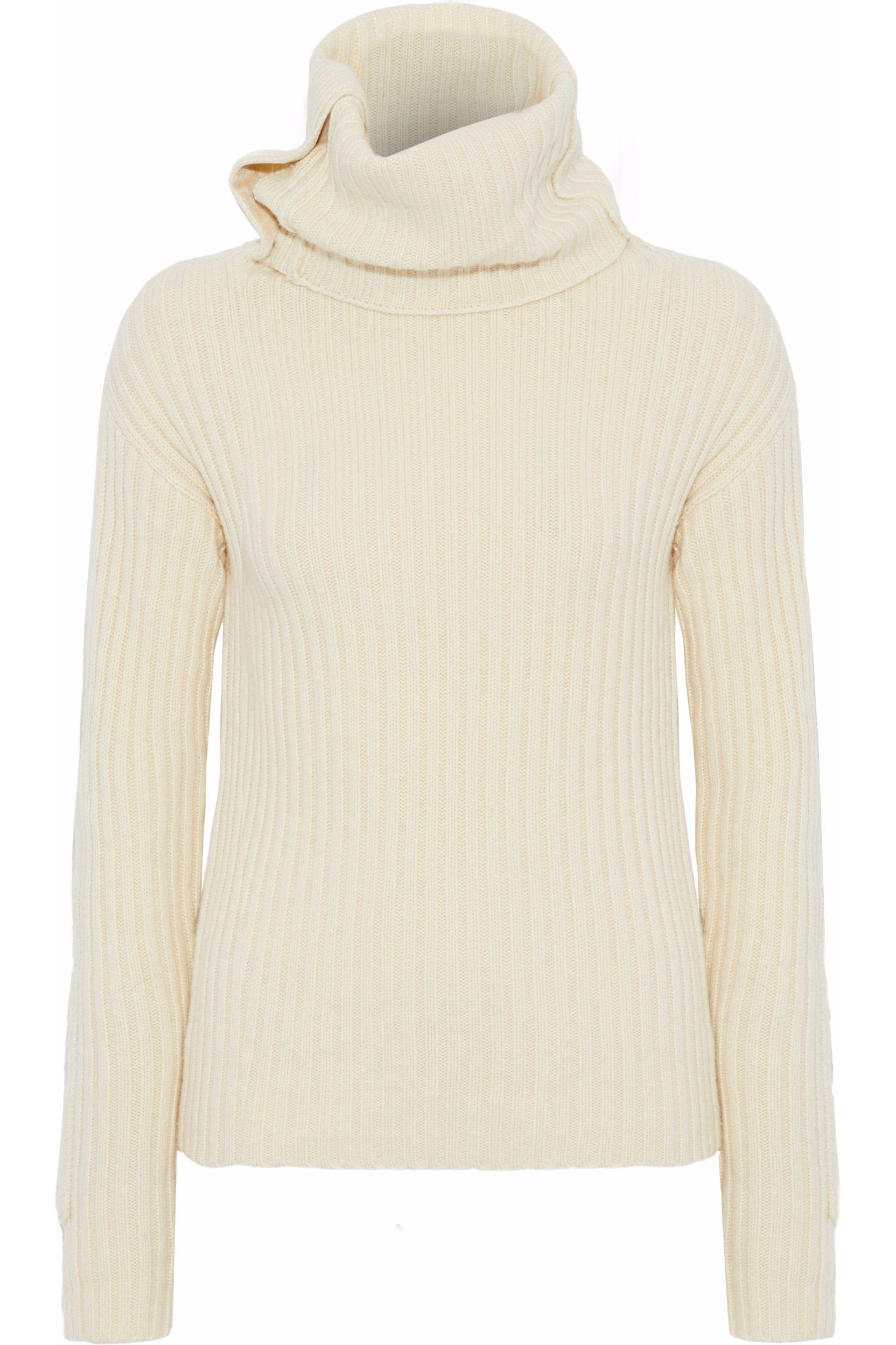 Blend Joseph Turtleneck And Wool Ribbed Women's Yak Jumper q8rw8Xg6