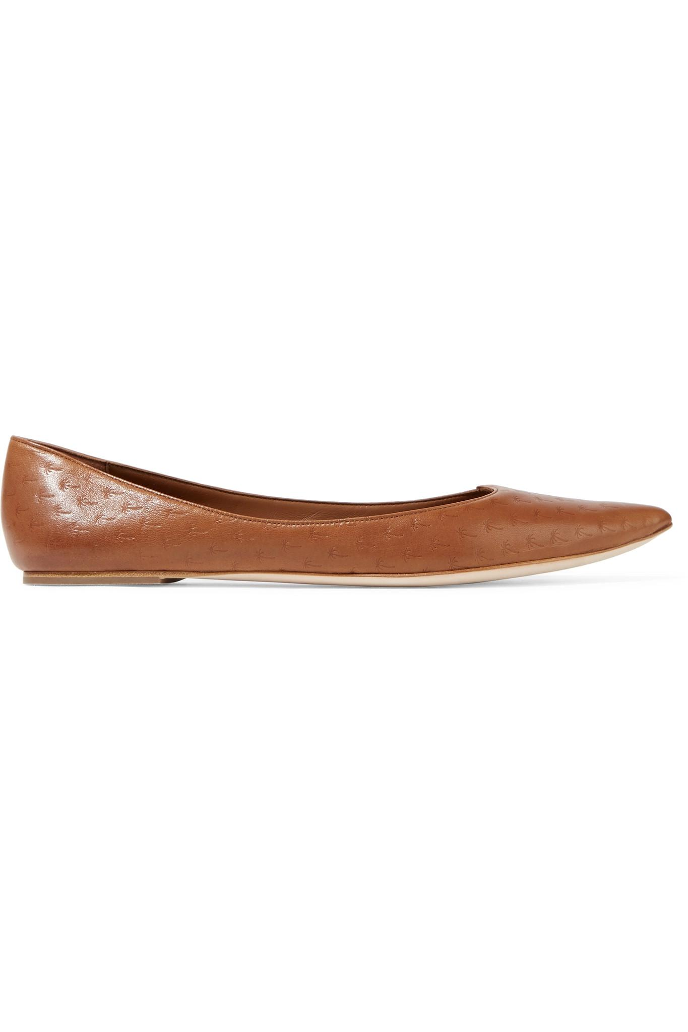 huge surprise sale online Tomas Maier Patent Leather Pointed Flats best store to get 2015 new for sale 8uxkLH