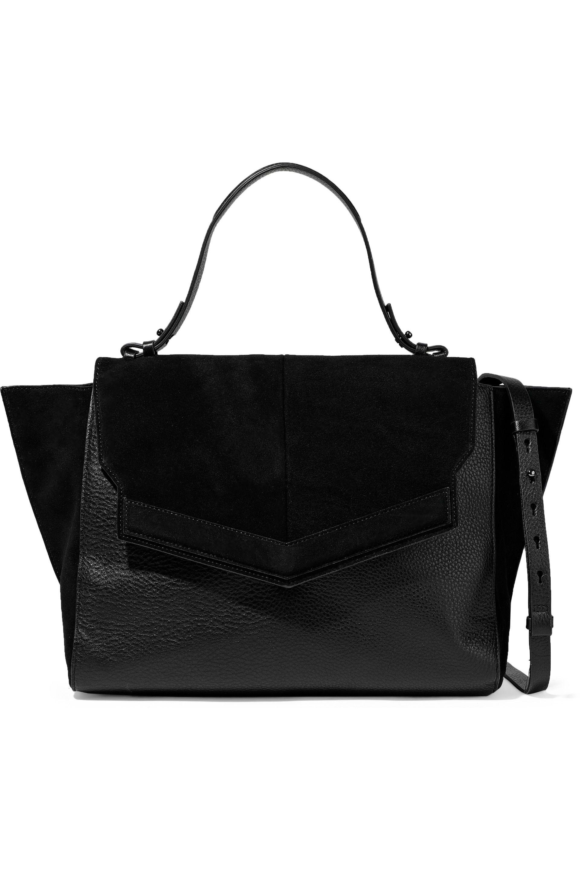 c7a03d4a35 Lyst halston heritage leather shoulder bag in black jpg 1920x2880 Halston  heritage handbags