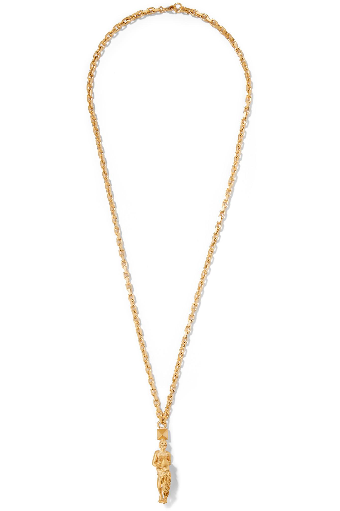 3-D flower-pendant necklace Valentino lGUakOE