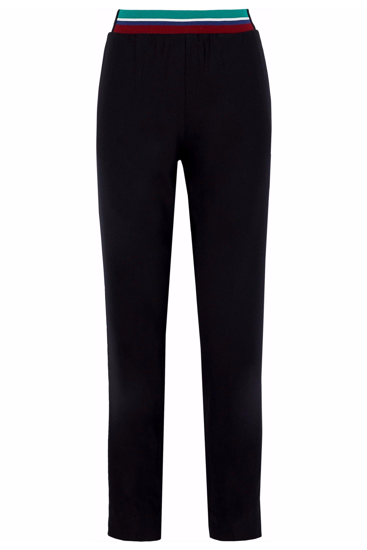 Crepe Tapered Pants - Black Tibi Clearance Nicekicks OvaBe9n7o