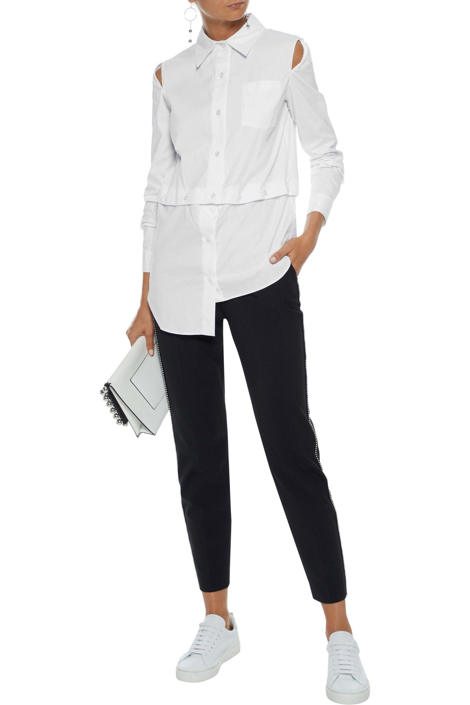 MILLY Womens Fractured Shirt