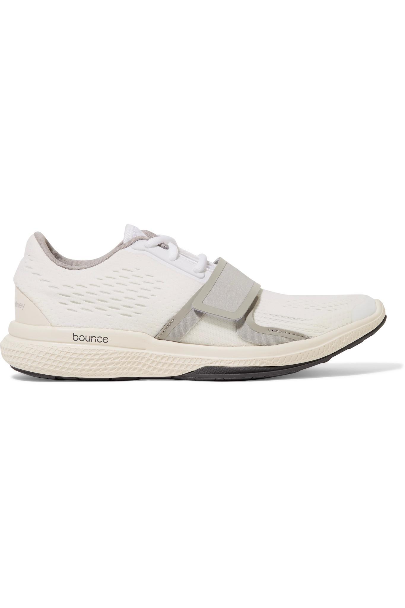8be61fdcd3c9e Lyst - adidas By Stella McCartney Atani Bounce Stretch-mesh Sneakers ...