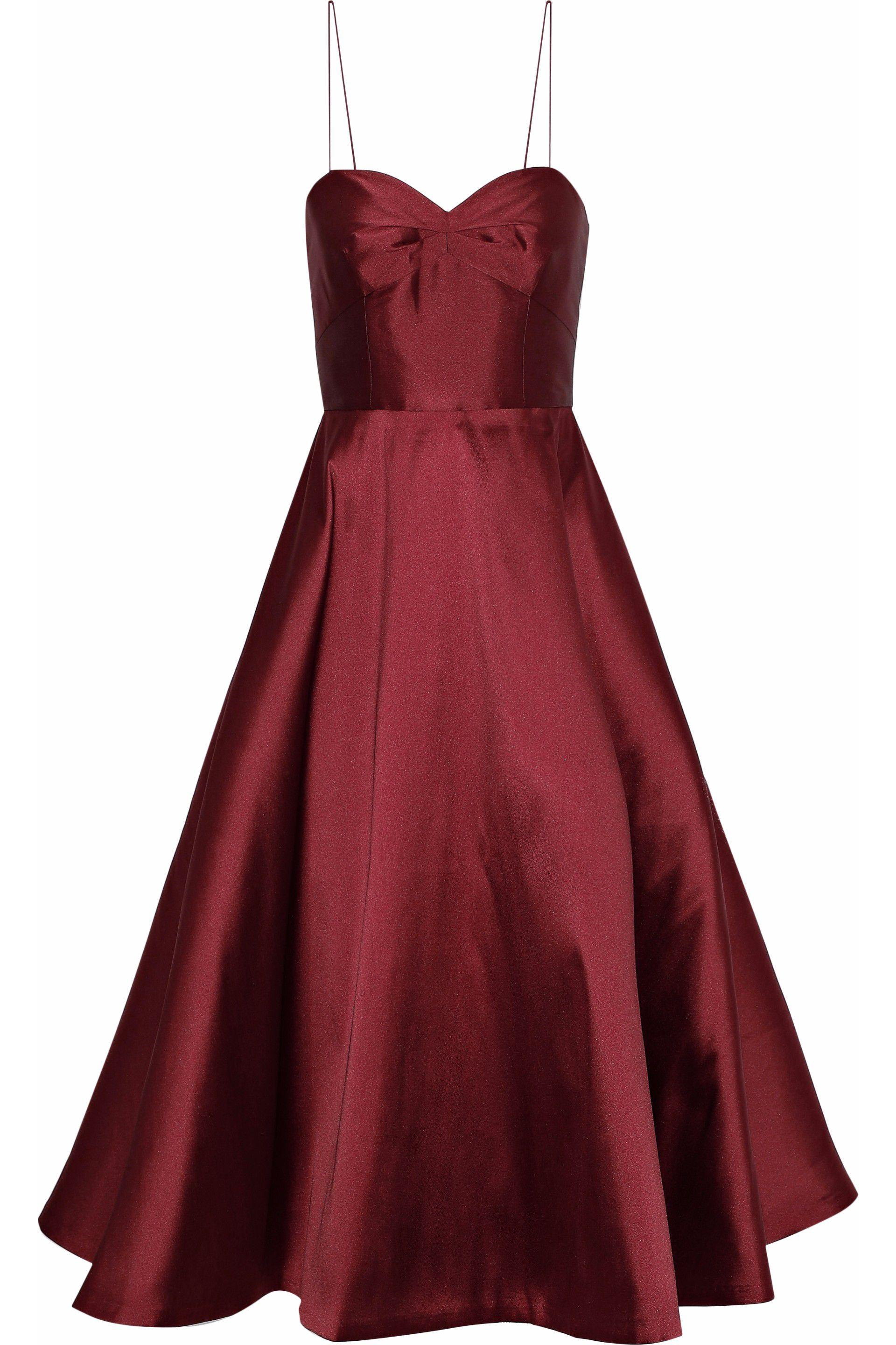 4762afdd13f5 sachin-babi-Burgundy-Woman-Flared-Duchesse-satin-Midi-Dress-Burgundy.jpeg