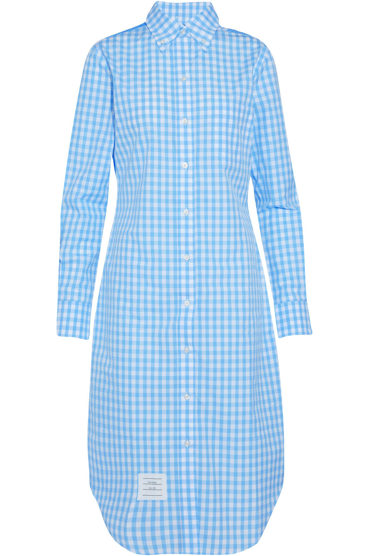 Cotton-poplin shirt dress Thom Browne T63pK4