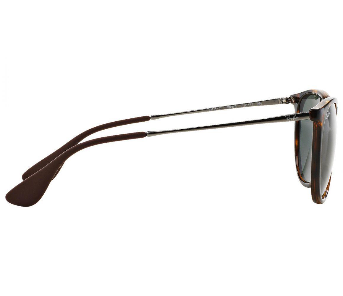 3e4ca1eb9c Lyst - Ray-Ban Erika Rb4171 710 71 Havana And Grey Lenses Sunglasses ...