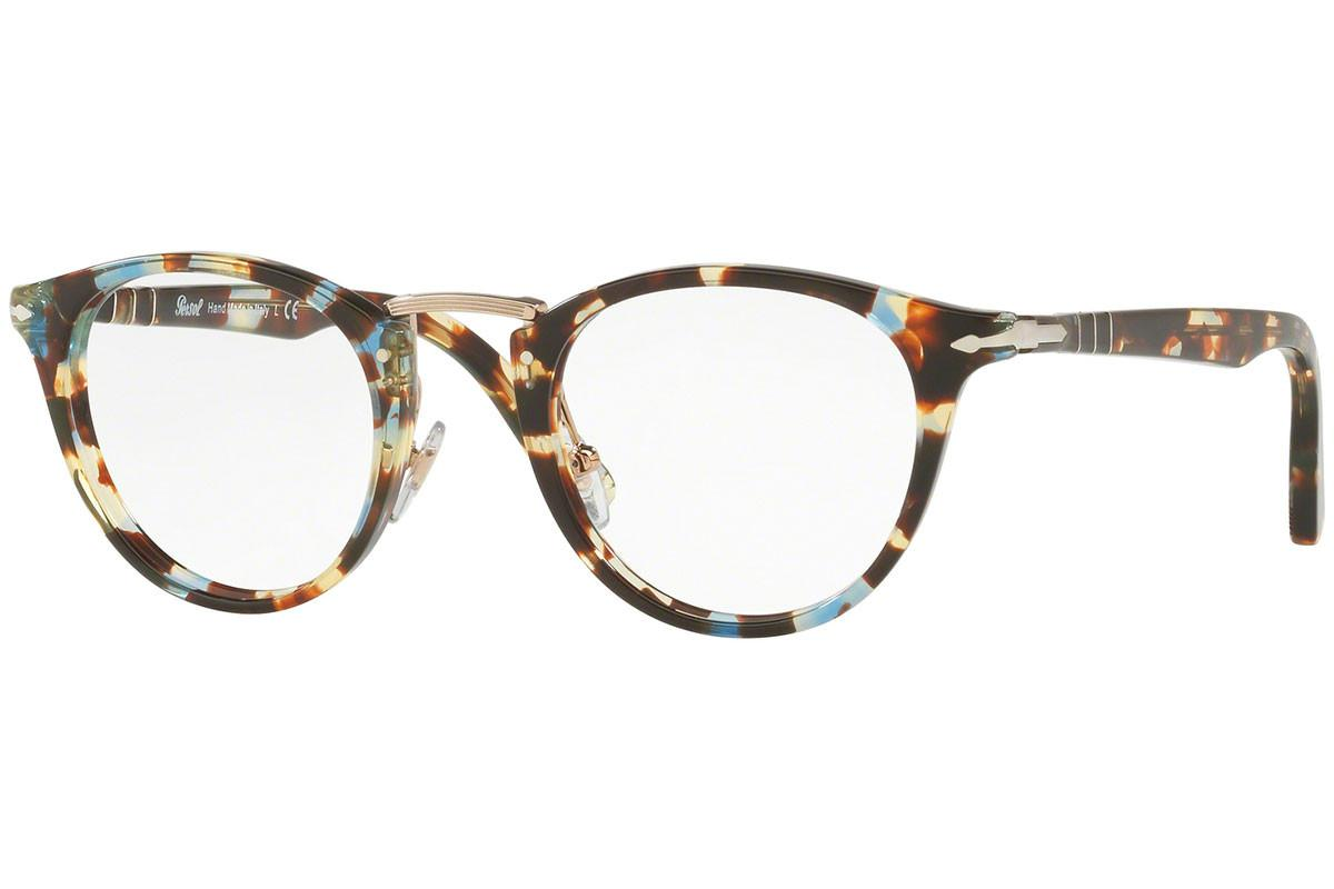 54679b4a2cd Persol Multi-coloured Round Frames With Clear Lenses Eyewear Po3107v ...