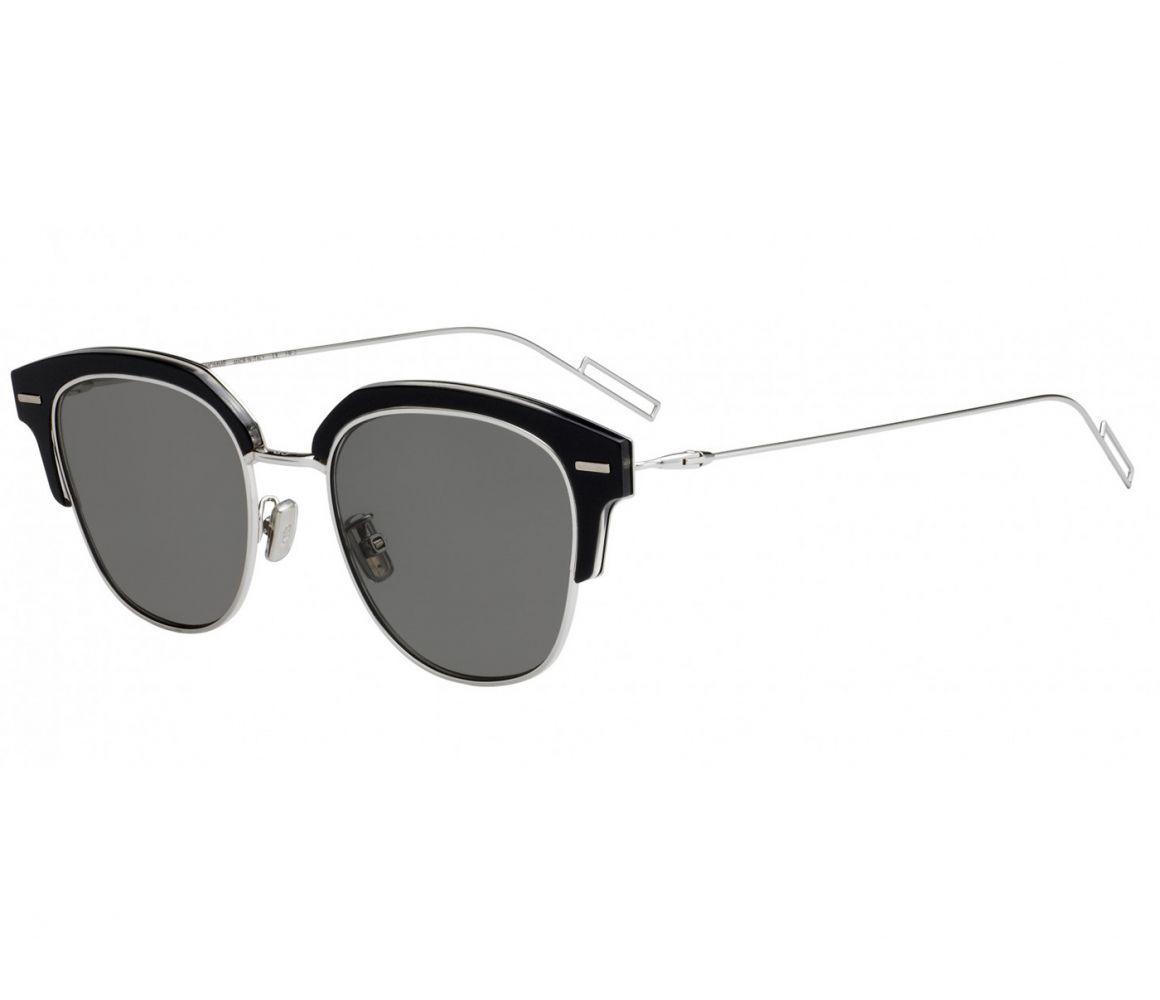 3bcf0c4ad60 Dior Homme Half-rim Black Frames With Black Lenses 7c5 2k in Black ...