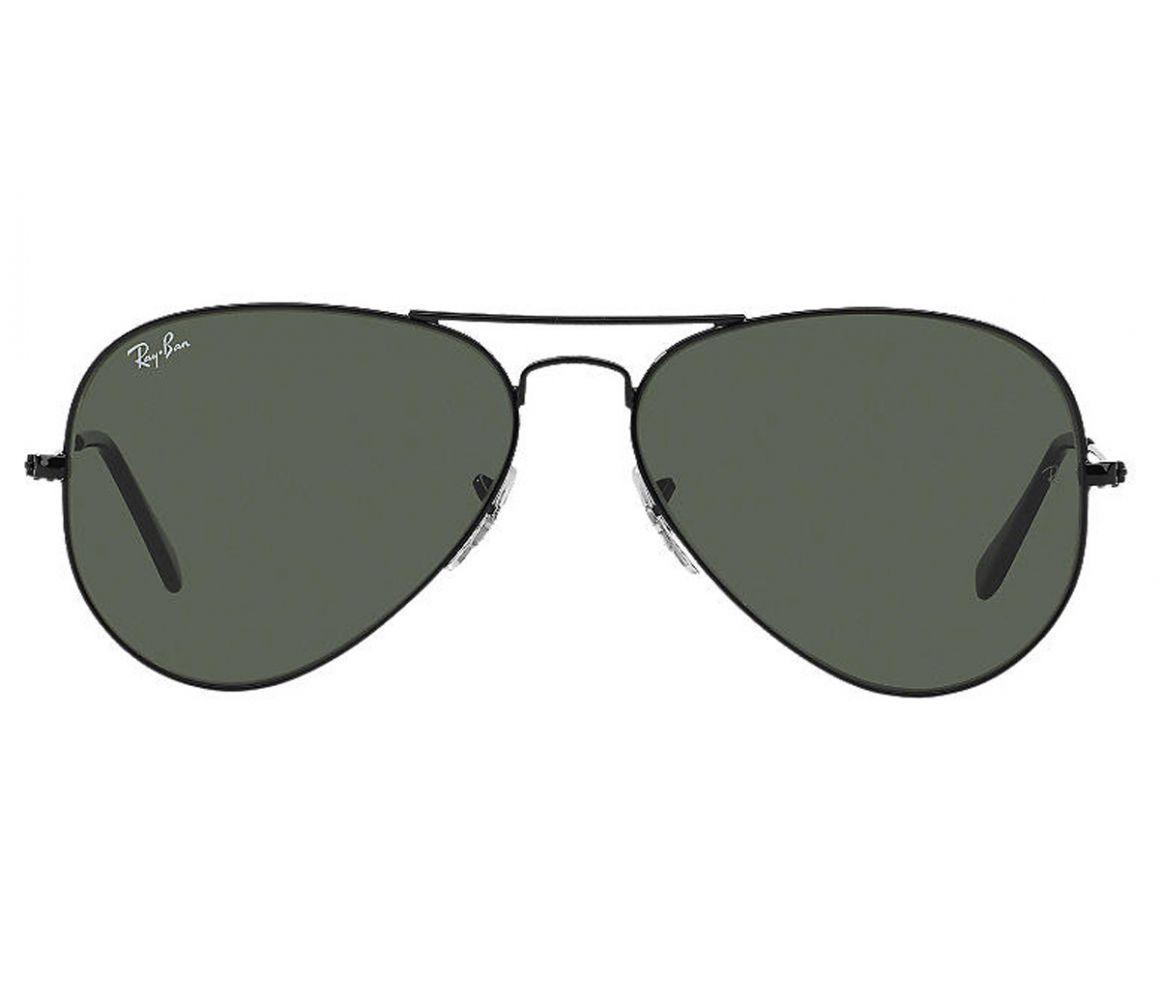 9fdaf2c364 Lyst - Ray-Ban Aviator Classic Rb3025 L2823 Black Frames With Grey ...