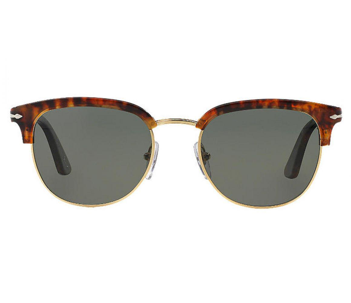 d85bb5aafcd Persol. Men s Icons Po3105s 108 58 Caffe With Crystal Green Lenses  Sunglasses