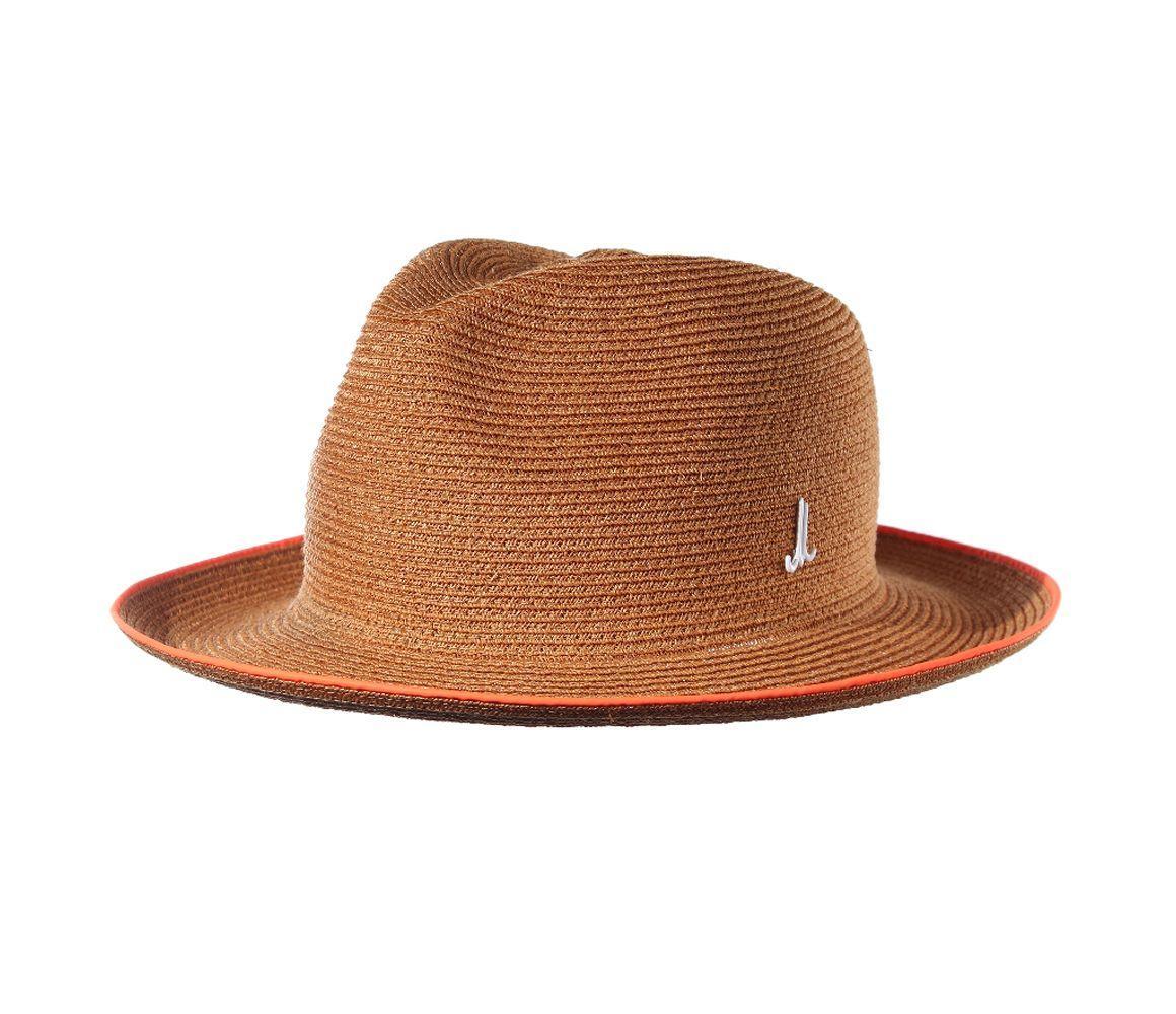 4ad041fe3935d Muhlbauer Gold Braided Hemp Graf Udo Hat in Metallic for Men - Lyst