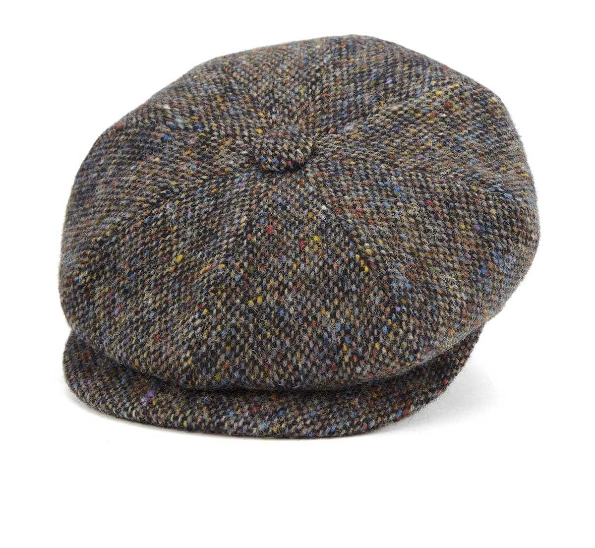Lock   Co Brown Muirfield Tweed Flat Cap in Brown for Men - Lyst da7be542f7f