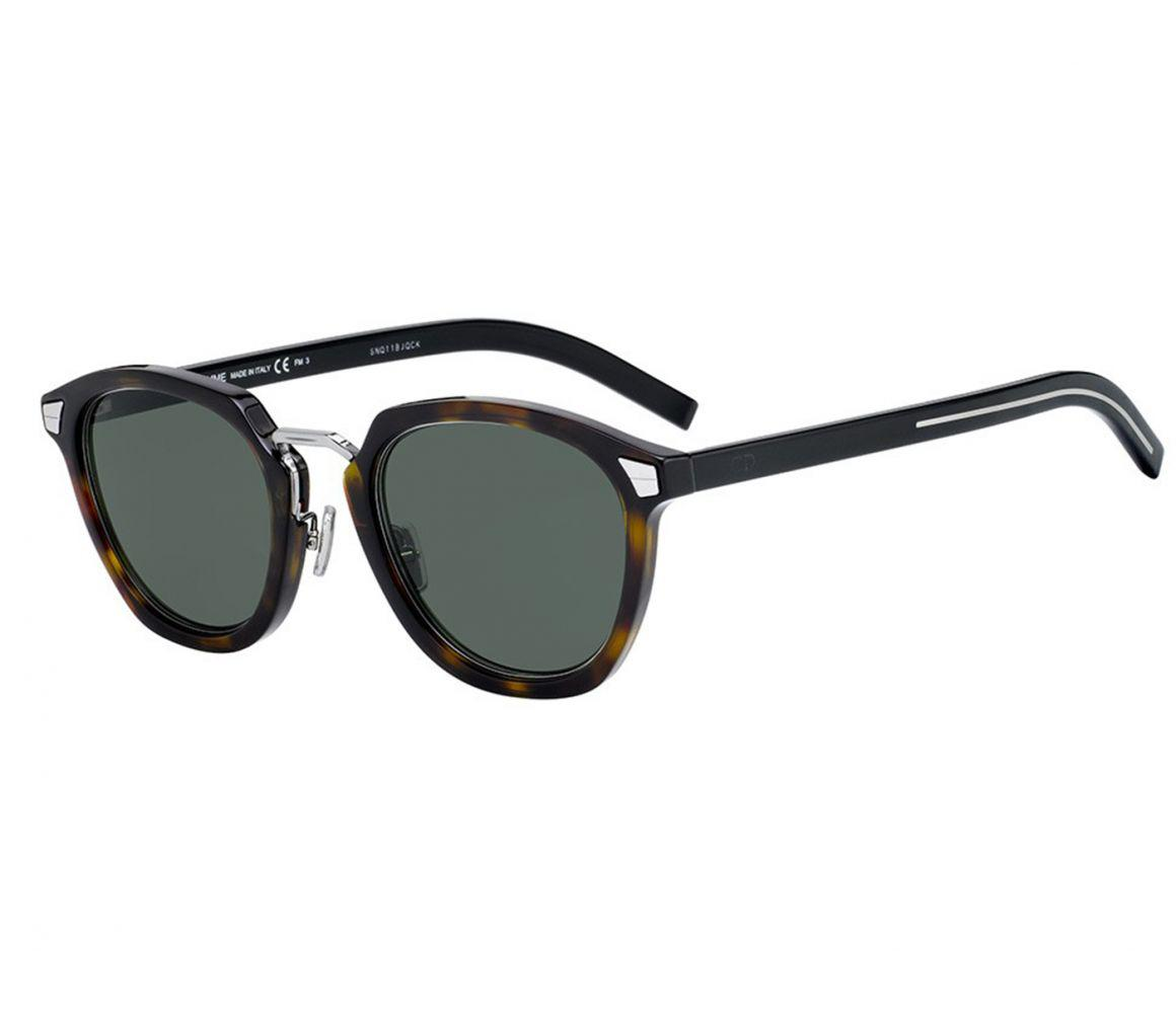 730d11fb640f Dior Homme Diortailoring Brown Tortoiseshell Frames With Black ...