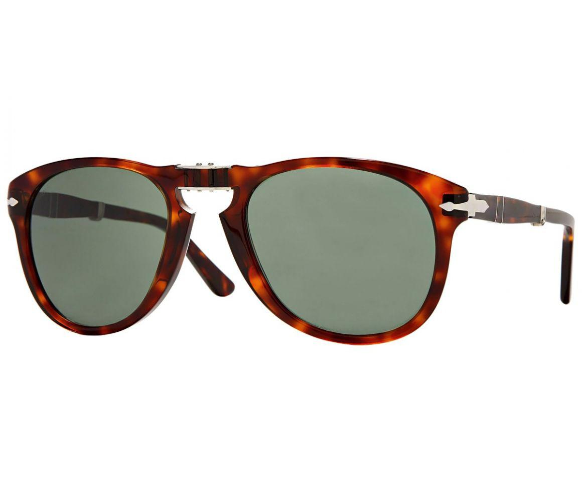 1d6a52fb76 Lyst - Persol Icons Po0714 Steve Mcqueen 24 31 Folding Havana With ...