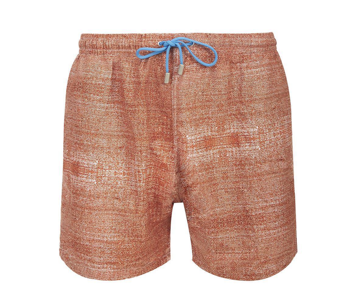 2784ba1998 Fumagalli 1891 Orange Panarea Swimming Shorts in Orange for Men - Lyst