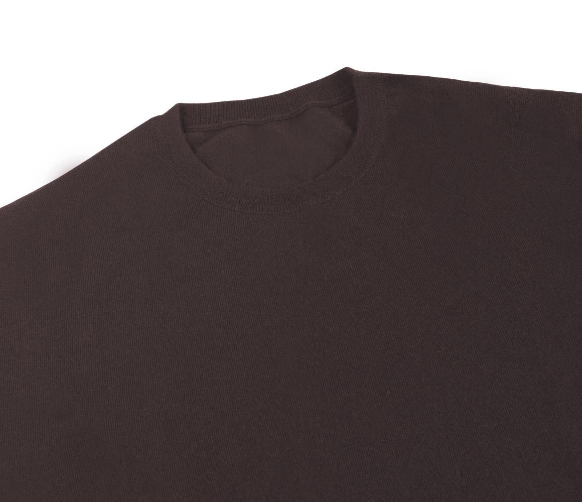 Anderson & sheppard Chocolate Crew Neck Cashmere Sweater in Brown ...