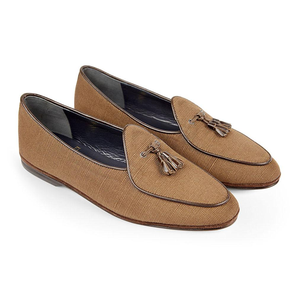 Bordeaux Marphy Suede Loafers Rubinacci