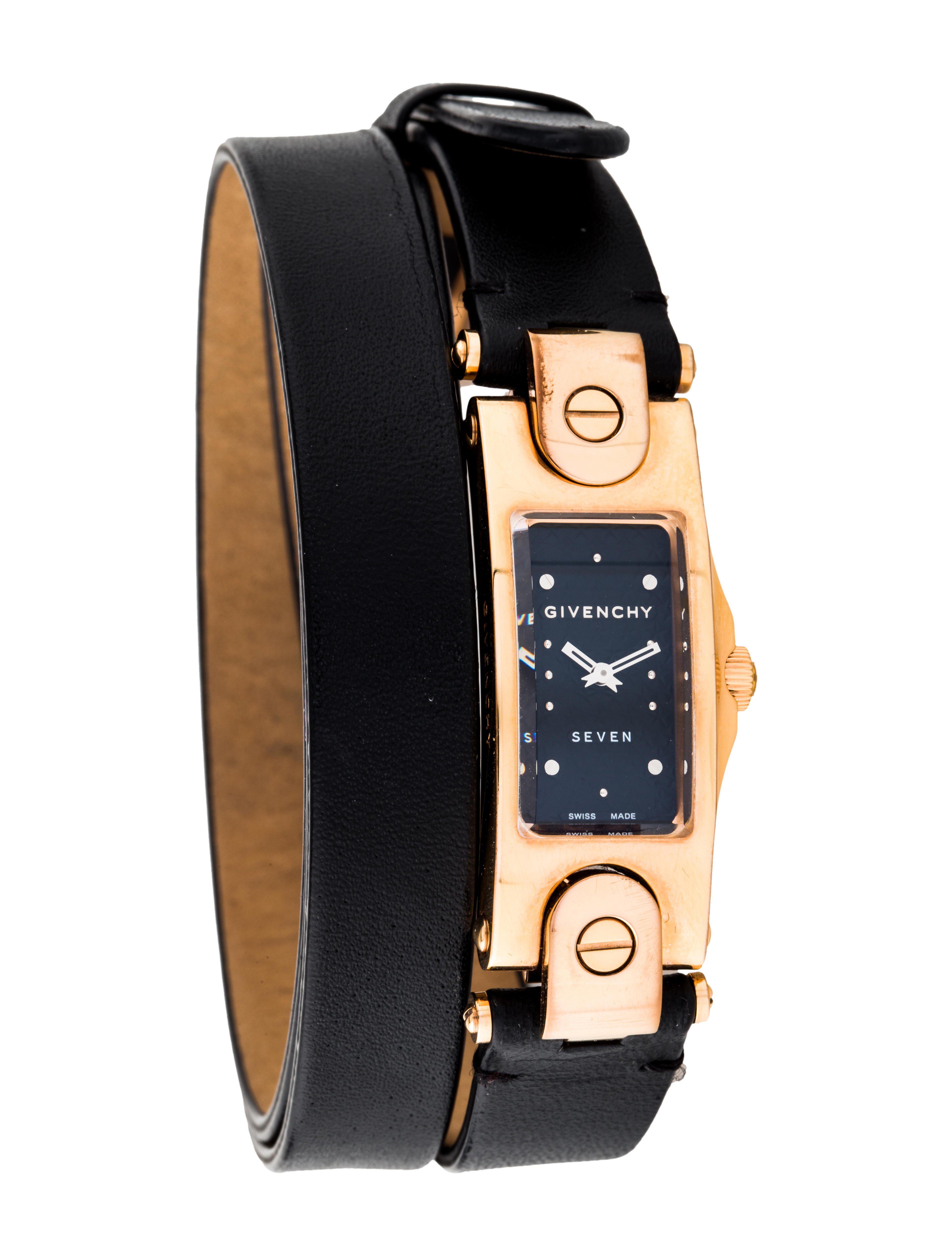 Leather Bondage Watch