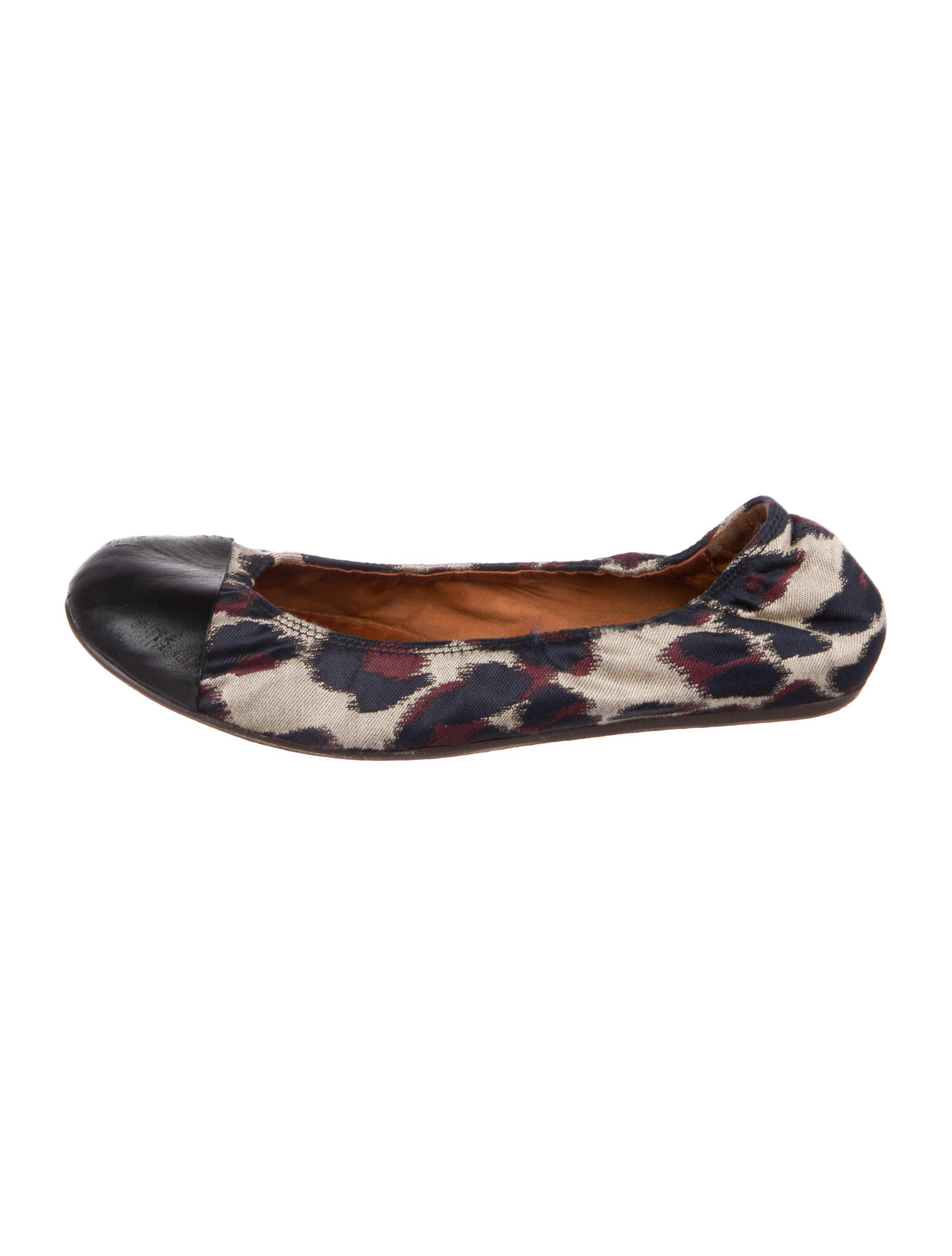 Lanvin Canvas Pointed-Toe Flats discount Manchester GiAzy6