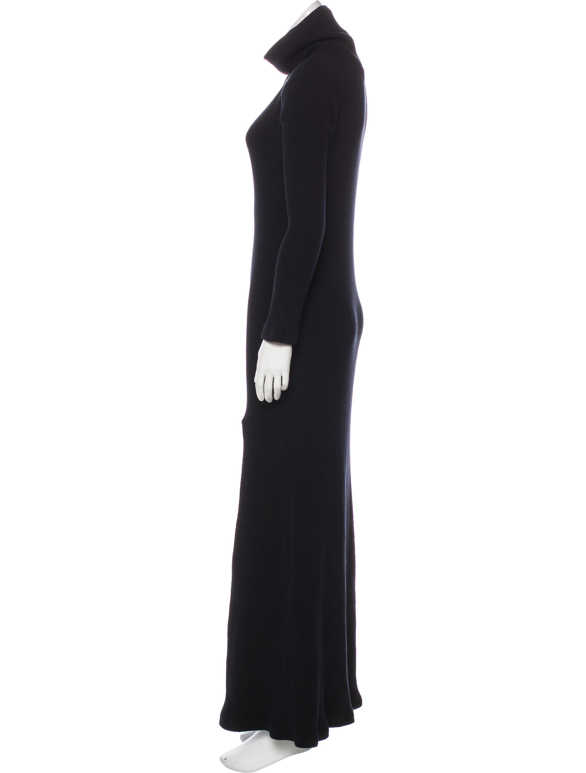 Lyst - Baja East Turtleneck Sweater Dress in Black